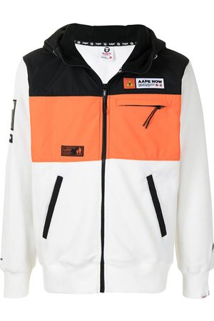 adidas Colour-block panel jacket