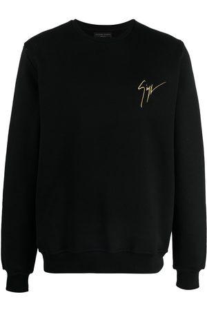 adidas Logo-print round neck sweatshirt