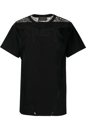 adidas Lace-panelled T-shirt