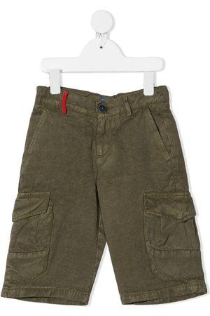 adidas Boys Shorts - Side flap-pocket cargo shorts