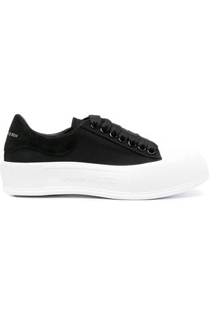 adidas Deck Plimsoll lace-up sneakers