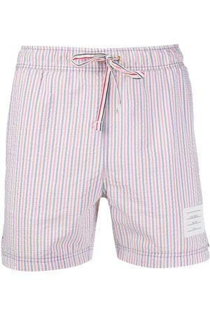 adidas Men Swim Shorts - RWB seersucker swim shorts