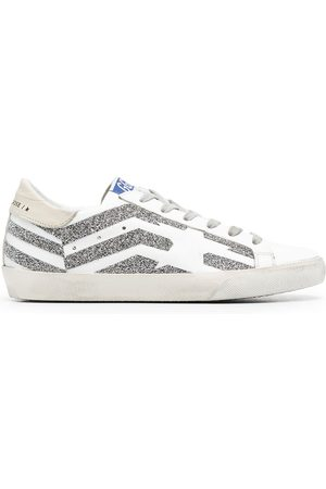 adidas Super-Star flag-motif low-top sneakers
