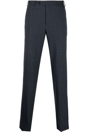 adidas Men Formal Pants - Straight-leg tailored trousers
