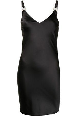 adidas Women Dresses - V-neck buckle-fastening dress