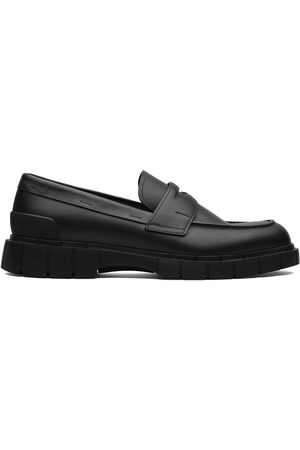 adidas Men Loafers - Slip-on calf leather loafers