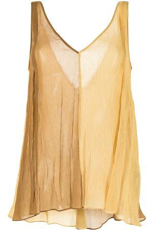 adidas Women Tank Tops - Two-tone vest top