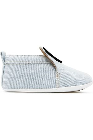 adidas Baby Sneakers - Logo-appliqué denim shoes