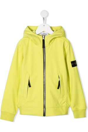 adidas Logo-patch zip-up hooded jacket