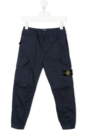 adidas Boys Cargo Pants - Compass-patch cargo trousers