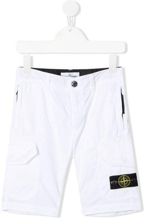 adidas Boys Bermudas - Logo-patch bermuda shorts
