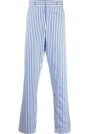adidas Men Formal Pants - Striped tailored trousers