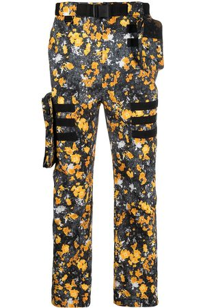 adidas Men Cargo Pants - Abstract-print cargo trousers