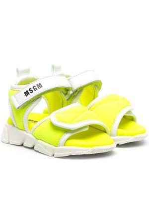 adidas Girls Sandals - Chunky logo-print sandals