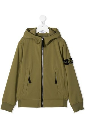 adidas Logo patch zip-front hoodie