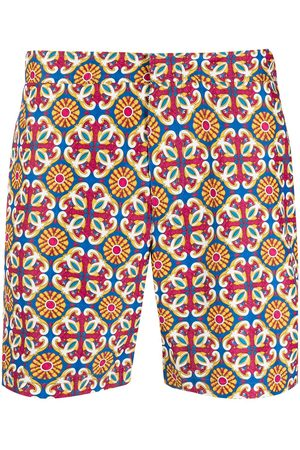 adidas Men Swim Shorts - Geometric swim shorts