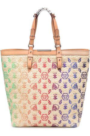 adidas Monogram-embroidered tote bag