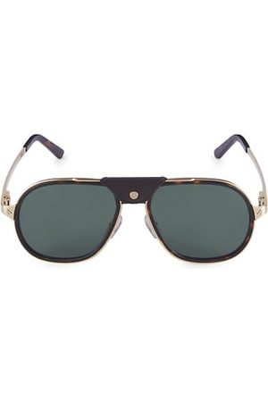Cartier Core Range 57MM Aviator Sunglasses