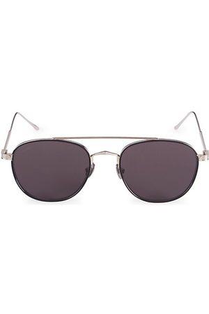 Cartier Men Sunglasses - Core Range 55MM Round Titanium Sunglasses
