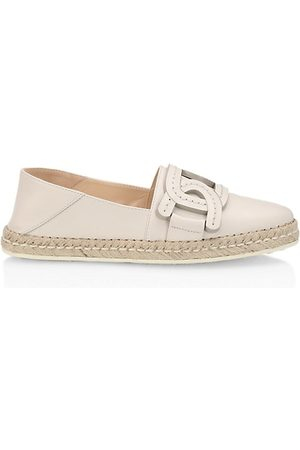 Tod's Kate Leather Espadrilles