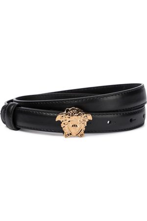 VERSACE Women Belts - Medusa leather belt