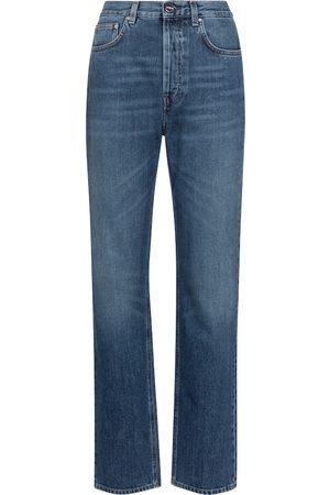 Totême Mid-rise wide-leg jeans