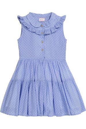 MORLEY Nelly polka-dot cotton-blend dress