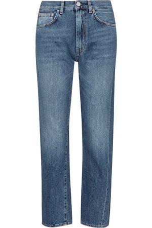 Totême Mid-rise twisted-seam straight jeans