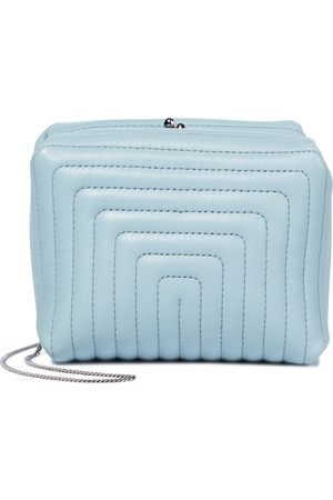 Jil Sander Quilted leather clutch