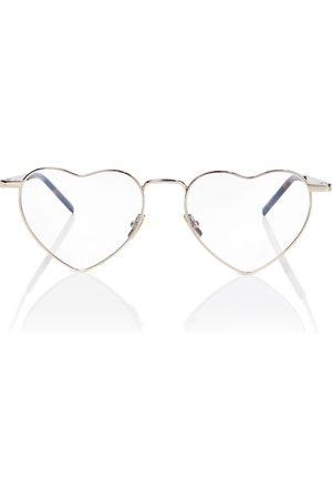 Saint Laurent Heart glasses