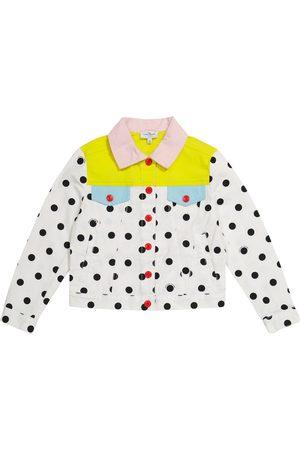 The Marc Jacobs Polka-dot denim jacket