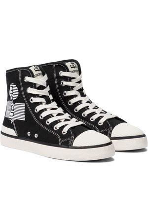 Isabel Marant Benkeen canvas high-top sneakers