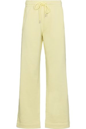 DRIES VAN NOTEN Women Trousers - High-rise cotton sweatpants