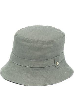 Tartine Et Chocolat Dropped-brim linen hat