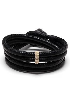 Mizuki 14kt yellow diamond wrap bracelet