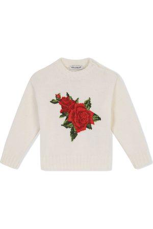 Dolce & Gabbana Cross-stitch design jumper