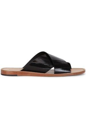 Dolce & Gabbana Slip-on eel skin sandals