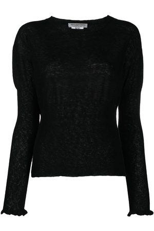 Serafini Gathered-detail jumper
