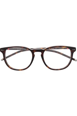 Polo Ralph Lauren Thin tortoiseshell round glasses
