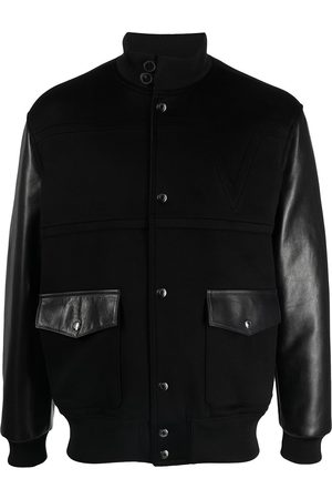 VALENTINO Panelled high-neck jacket