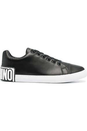 Moschino Rear logo low-top sneakers