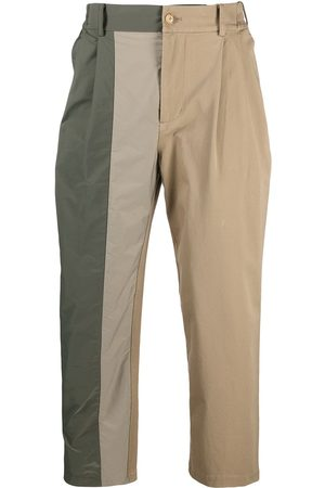 Feng Chen Wang Asymmetric panel chino trousers