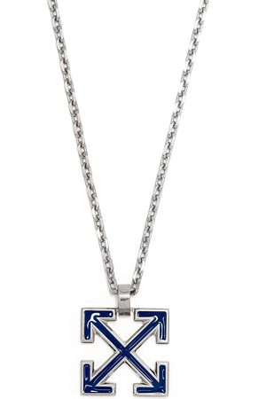 OFF-WHITE Enamelled Arrows pendant necklace