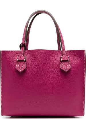 MOREAU Brégancon leather tote bag