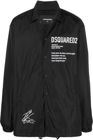 Dsquared2 Graphic slogan print jacket
