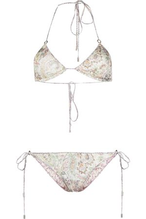 Etro Paisley print bikini