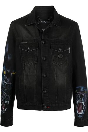 Philipp Plein Panther denim jacket