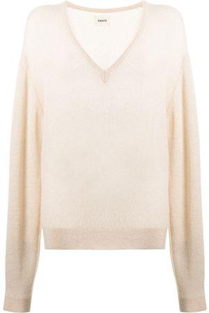 Khaite Sam rib-trimmed wool jumper