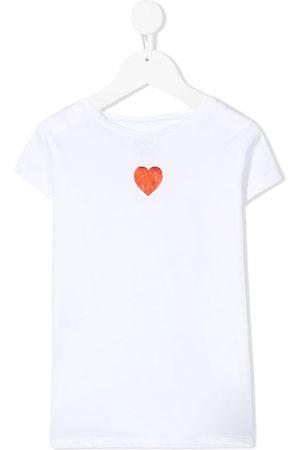 DOUUOD KIDS Heart print short-sleeve T-shirt