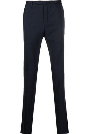 Incotex Slim-cut virgin wool trousers